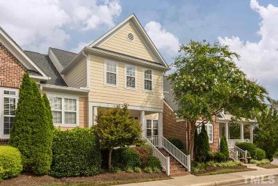 Raleigh NC Townhouse For Sale: $300,000