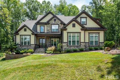 Johnston County Single Family Home Contingent: 48 Bella Casa Way