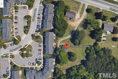 Wake County Residential Lots & Land Contingent: 1316 Center Street