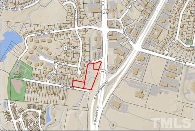 Wake County Residential Lots & Land For Sale: 2800 S Saunders Street