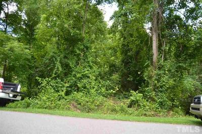 Wake County Residential Lots & Land For Sale: 5321 Olive Road