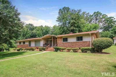 Siler City Single Family Home For Sale: 816 Cliftwood Drive
