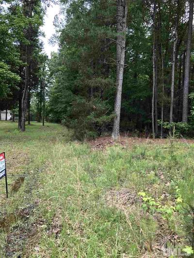 Granville County Residential Lots & Land For Sale: Reavis Road