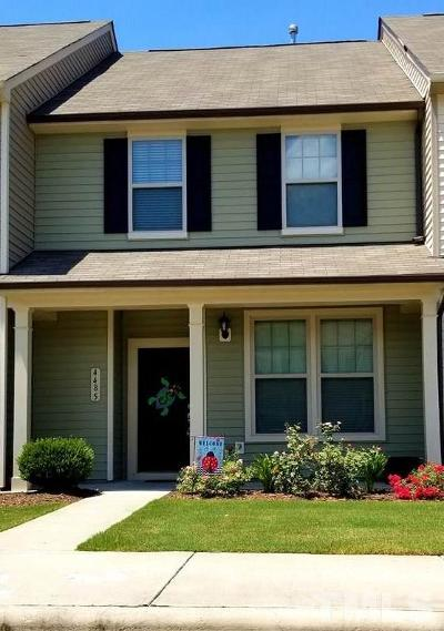 Wake Forest Townhouse Pending: 4485 Middletown Drive