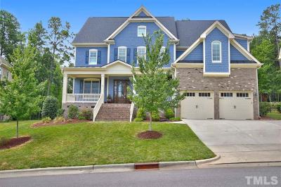 Cary Single Family Home Contingent: 513 Waverly Hills Drive