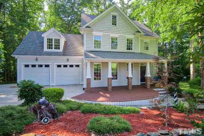 Apex Single Family Home Contingent: 3808 Crooked Brook Trail