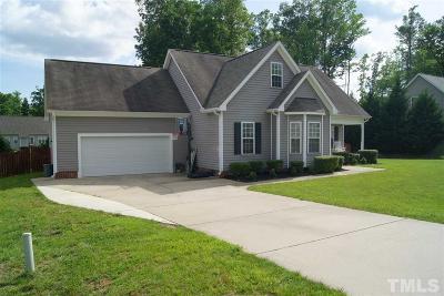 Franklinton Single Family Home For Sale: 80 Haddington Drive