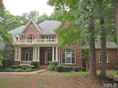 Wake Forest Single Family Home For Sale: 2113 Wisley Way