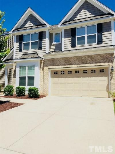 Morrisville Rental For Rent: 709 Garden Square Lane