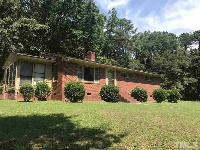 Fuquay Varina Single Family Home For Sale: 1408 S Main Street
