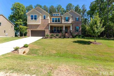 Apex Single Family Home For Sale: 3821 Hickory Manor Drive