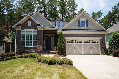 Wake Forest Single Family Home For Sale: 1757 Hasentree Villa Lane