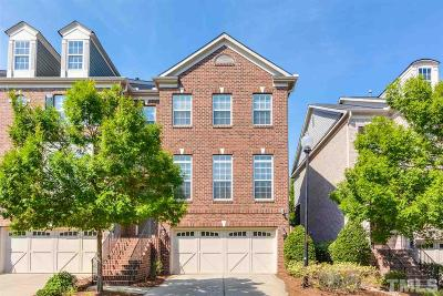 Cary Townhouse For Sale: 410 Weatherbrook Way