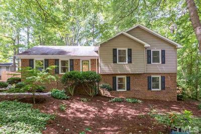Cary Single Family Home Contingent: 1289 Tarbert Drive