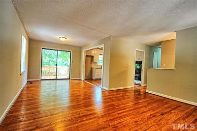Raleigh Single Family Home For Sale: 3637 Brinkley Drive