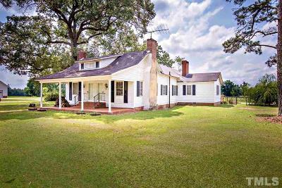 Harnett County Single Family Home For Sale: 30 W W McDonald Lane