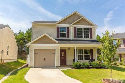 Raleigh Single Family Home Pending: 2737 Manthorp Terrace East