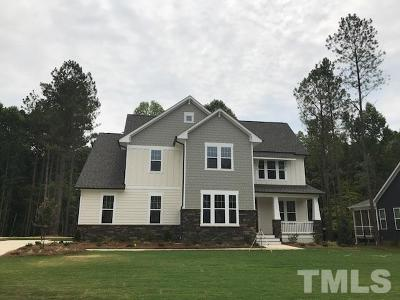 Garner Single Family Home Pending: 5117 Glen Creek Trail