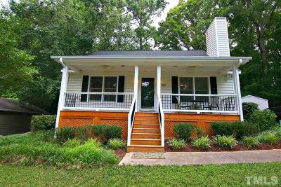 Cary Single Family Home Contingent: 501 E Dynasty Drive