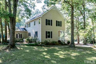 Wendell Single Family Home For Sale: 745 Mudham Road
