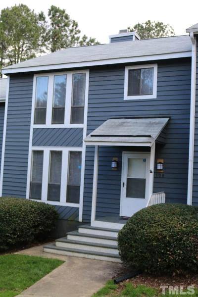 Townhouse Pending: 108 Joanne Circle