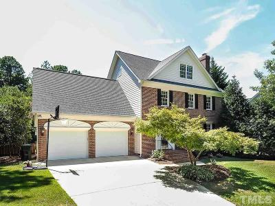 Cary Single Family Home Contingent: 206 Parkknoll Lane