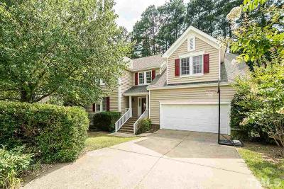 Cary Single Family Home Contingent: 147 Swan Quarter Drive