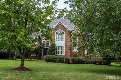 Raleigh Single Family Home For Sale: 4621 White Chapel Way