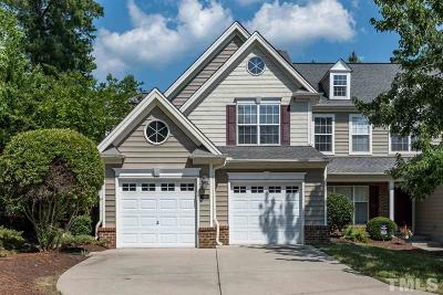 Brier Creek Townhouse For Sale: 9503 Dellbrook Court