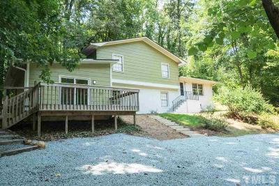 Chapel Hill Single Family Home For Sale: 304 Umstead Drive