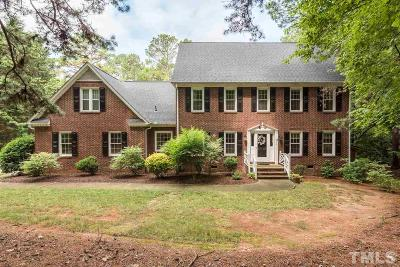 Wake County Single Family Home For Sale: 8813 Stage Ford Road