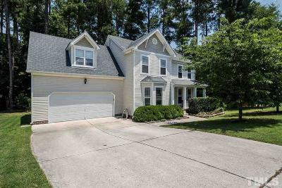 Raleigh Single Family Home Contingent: 4753 Landover Dale Drive