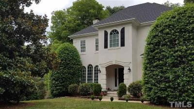 Cary Single Family Home Contingent: 201 W Camden Forest Drive