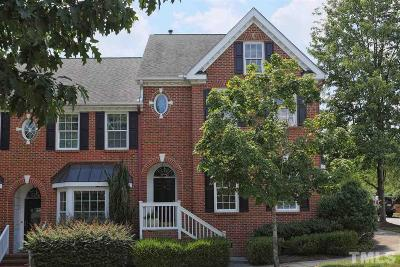 Chapel Hill Townhouse For Sale: 123 Westside Drive
