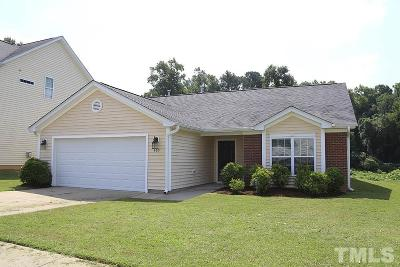 Fuquay Varina Single Family Home Contingent: 405 Timber Meadow Lake Drive