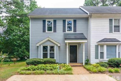 Garner Townhouse For Sale: 1460 Aversboro Road