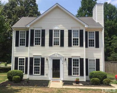 Knightdale Single Family Home Contingent: 518 Laurens Way