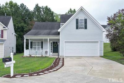 Raleigh Single Family Home Contingent: 2712 Golden Amber Court
