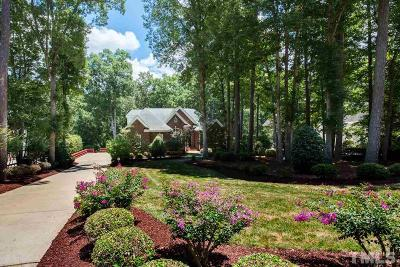 Raleigh Single Family Home For Sale: 1505 Liatris Lane