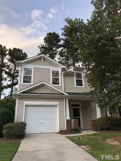 Raleigh Rental For Rent: 4817 Landover Pine Place