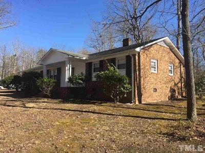 Durham County Single Family Home For Sale: 1102 Scranton Place Place