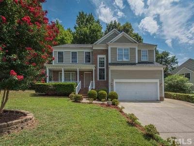 Raleigh Single Family Home For Sale: 9700 Miranda Drive