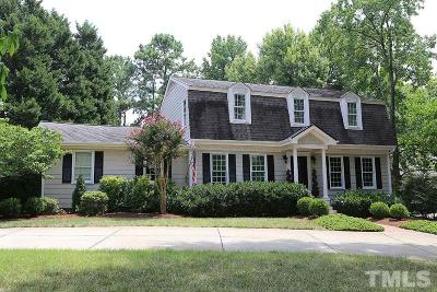 Raleigh Single Family Home For Sale: 805 Glen Eden Drive