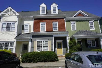 Apex Townhouse Pending: 132 Old Grove Lane