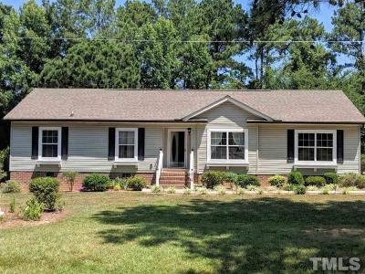 Oxford Single Family Home For Sale: 214 Wilson Town Road