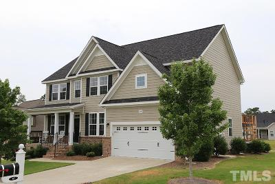 Angier Single Family Home For Sale: 40 Pebble Creek Drive