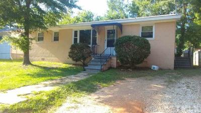 Raleigh Single Family Home Pending: 1409 Joe Louis Avenue