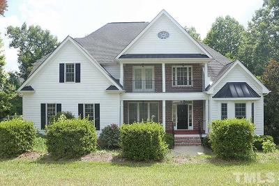 Fuquay Varina Single Family Home For Sale: 5217 Crooked Bluff Lane
