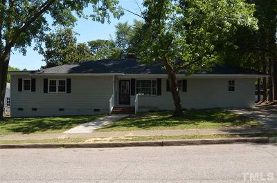 Louisburg Single Family Home For Sale: 112 Person Street