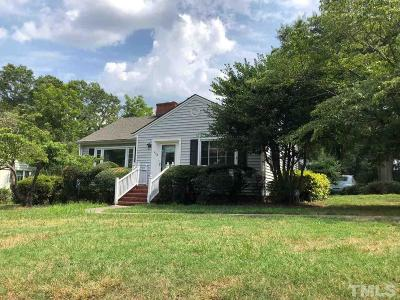 Fuquay Varina Single Family Home For Sale: 608 E Academy Street